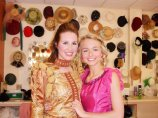 """Backstage of """"Once Upon a Mattress"""" at the Woodford Theatre- 2010"""