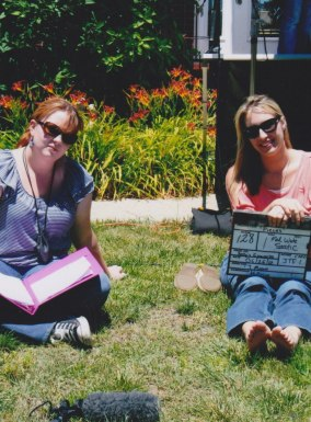 """Behind the Scenes of """"Pieces of Easter"""" for Kelly's Filmworks- 2012"""